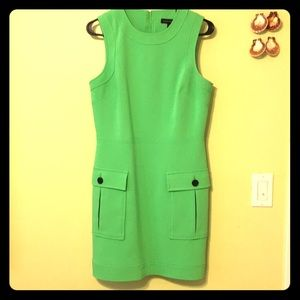 Hot!Banana Republic lime green dress!